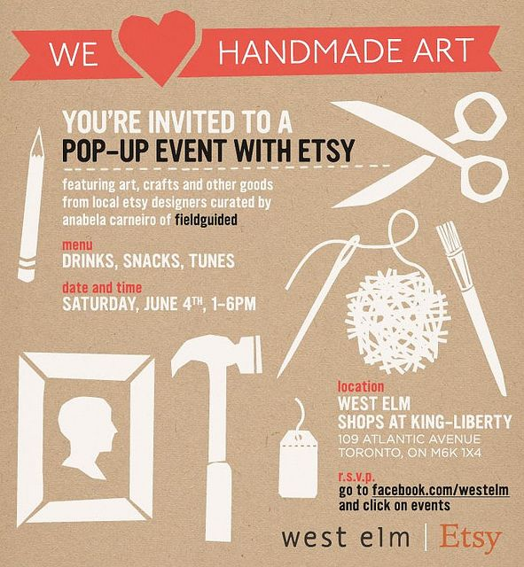 Wicked & Weird: West Elm & Etsy Pop-Up Shops