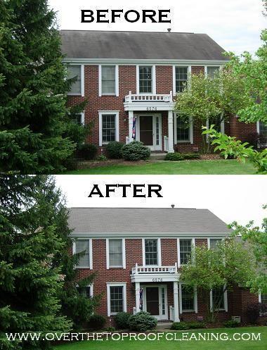 Cincinnati Roof Cleaning Roof Algae Roof Mold Shingle Cleaning Black Roof Stains Roof Cleaning