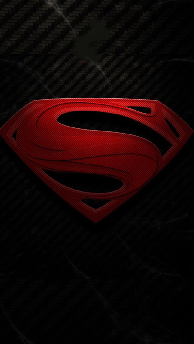 Black Red Superman Wallpaper Superman Wallpaper Logo Man Of Steel
