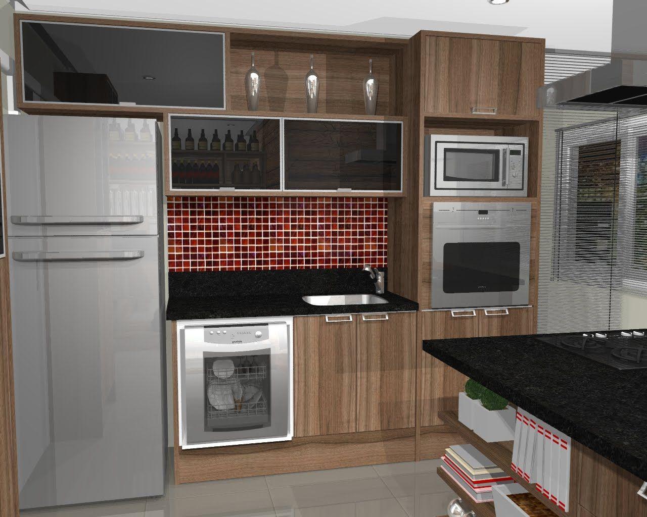 Cozinha Planejada Americana Compact 11 Ideas Cocina Pinterest