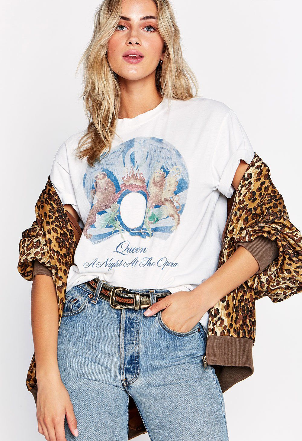 Queen A Night at the Opera Oversized Tee in 2019