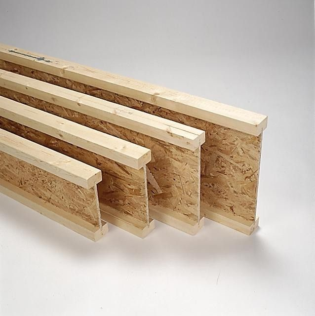 timber i-joists are engineered structural components that are