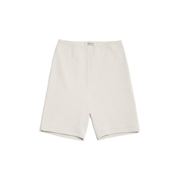 Resultado de imagem para yeezy bike shorts white