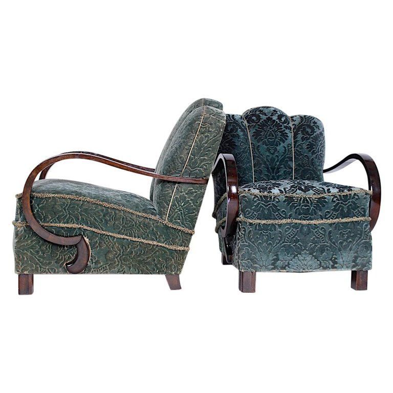 Pair Of Unique Armchairs 1930s Armchair Pairs Unique