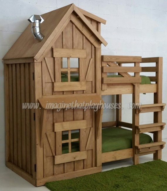 Best Our Rustic Cabin Bunk Bed Exeptional Quality And 640 x 480