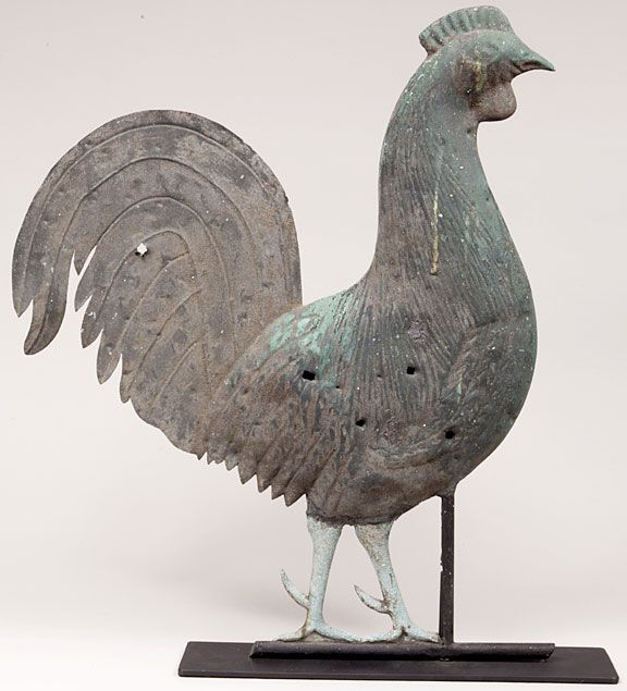 Rooster Weathervane Used As Target Practice Rooster Esculturas Gallinas Pajaritos