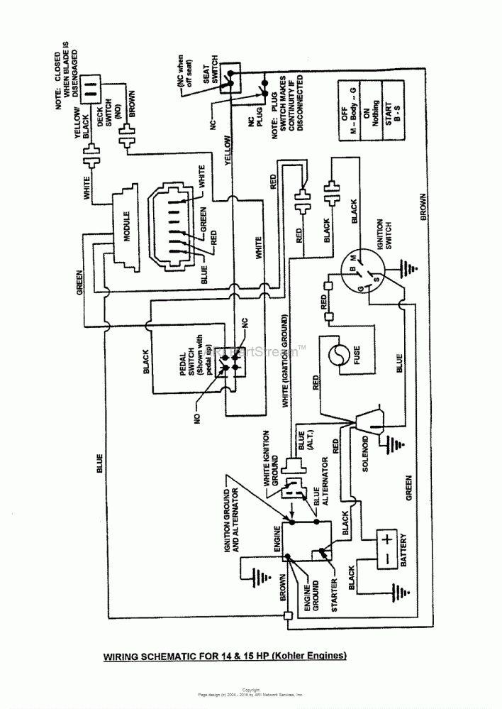 15+ Wiring Diagram For Lawn Mower Kohler Engine - Engine ...