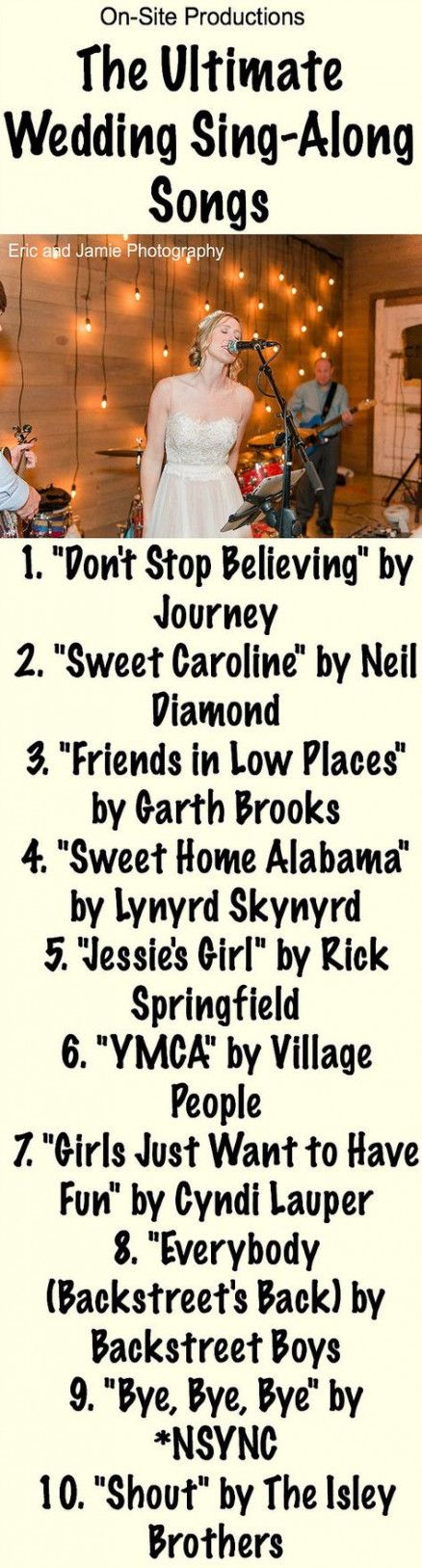 Trendy wedding songs to sing at ceremony Ideas #wedding