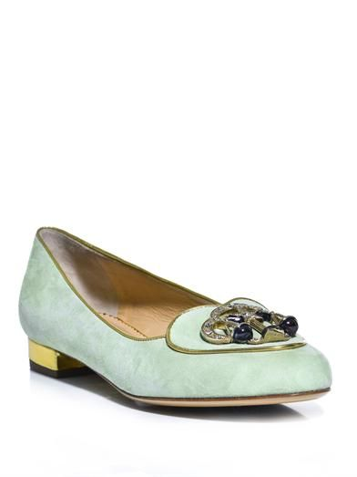Charlotte Olympia Libra Birthday Loafers cheap explore cheap sale clearance from china cheap sale purchase buy cheap 2014 WQb9gEFsS