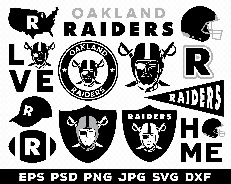 Oakland Raiders, Oakland Raiders logo, Oakland Raiders svg