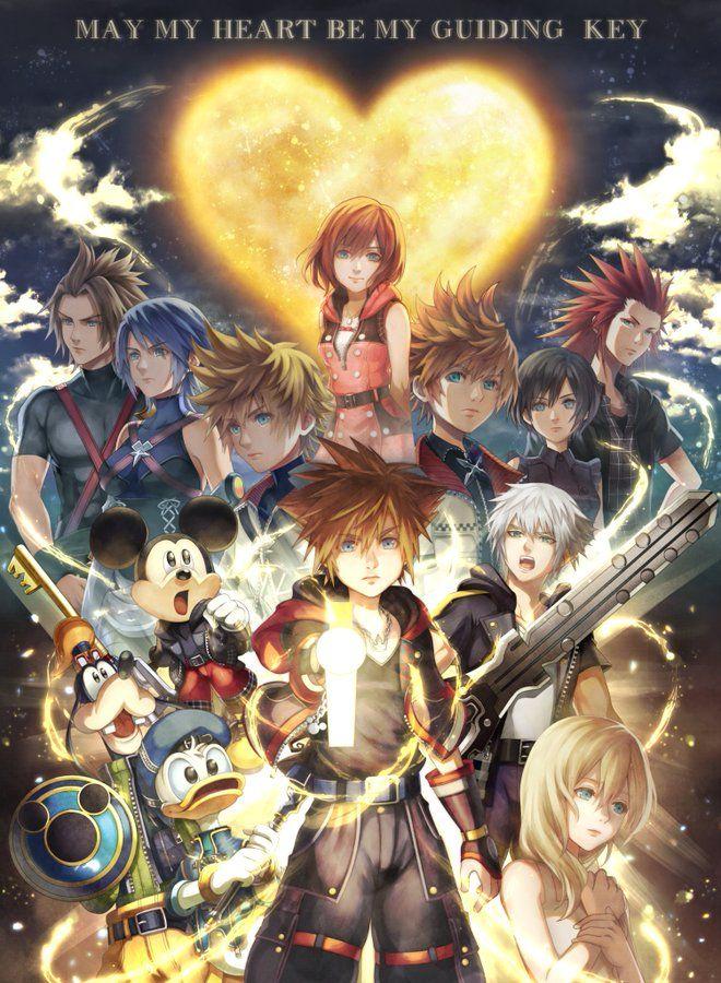 信乃 on Twitter Kingdom hearts wallpaper, Kingdom hearts