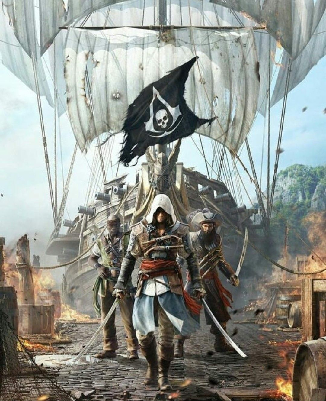 Assassin S Creed Iv Black Flag Arte Assassins Creed Arte De
