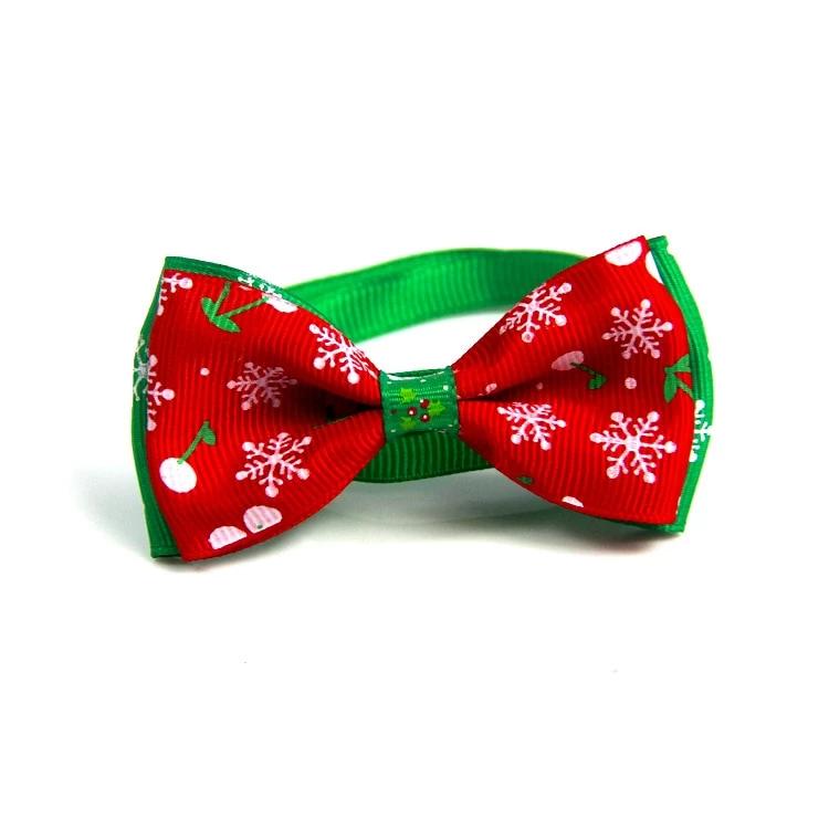 Christmas Pet Collar Bow Tie Adjustable Neck Strap Coolyoubuy Christmas Pet Collar Dog Collar Bows Dog Collar Bow Tie