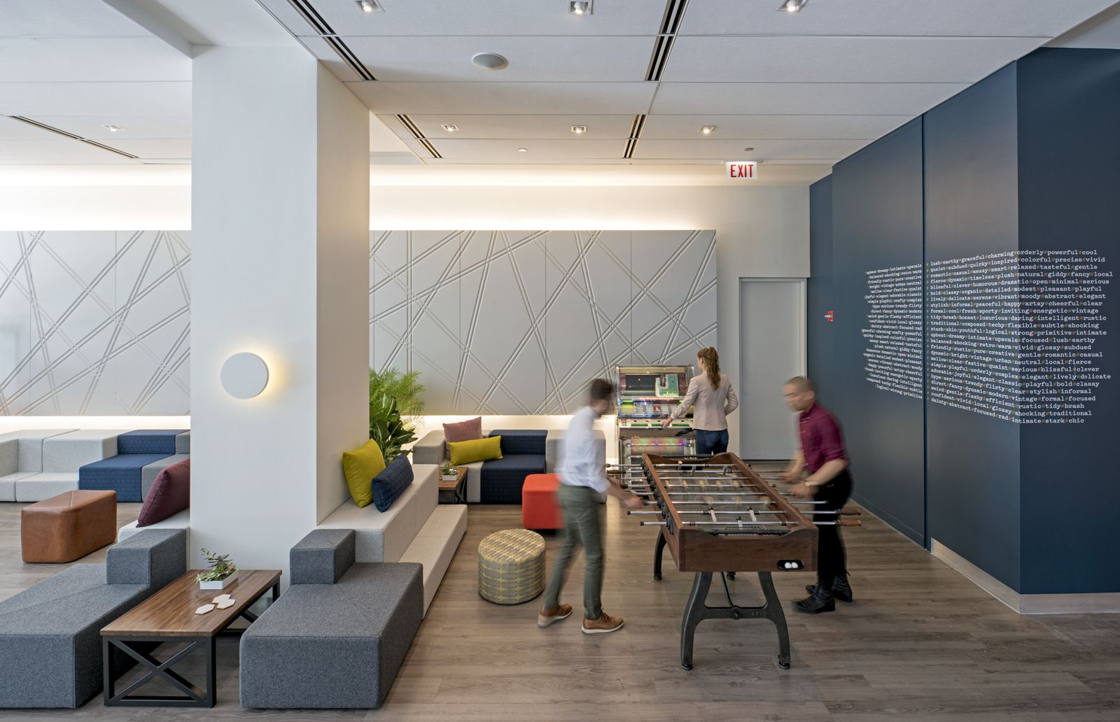 Office Tour: Kimball\'s Chicago Showroom | Oficinas modernas ...