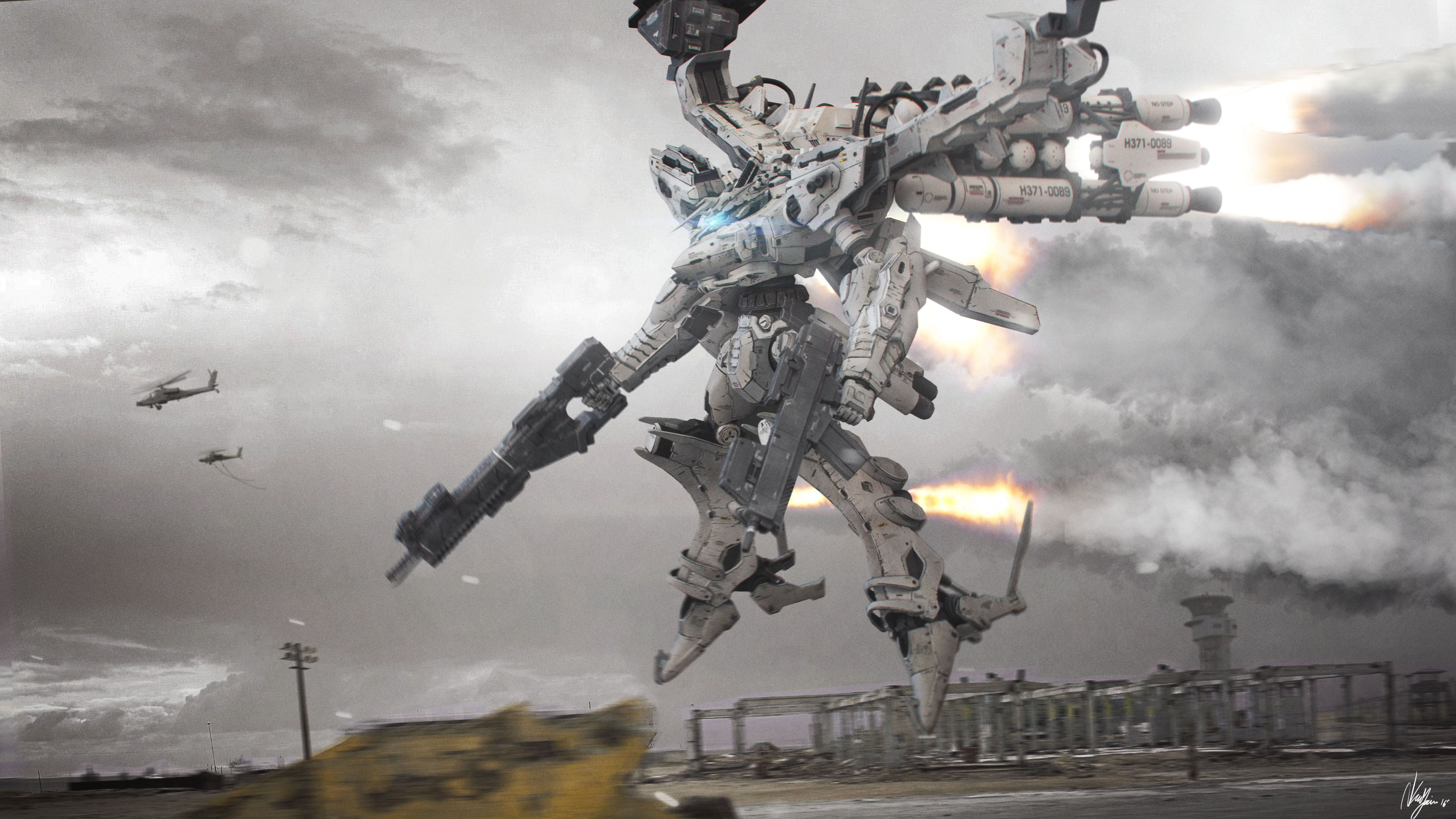 Armored Core White Glint Video Game Art Pinterest Armored