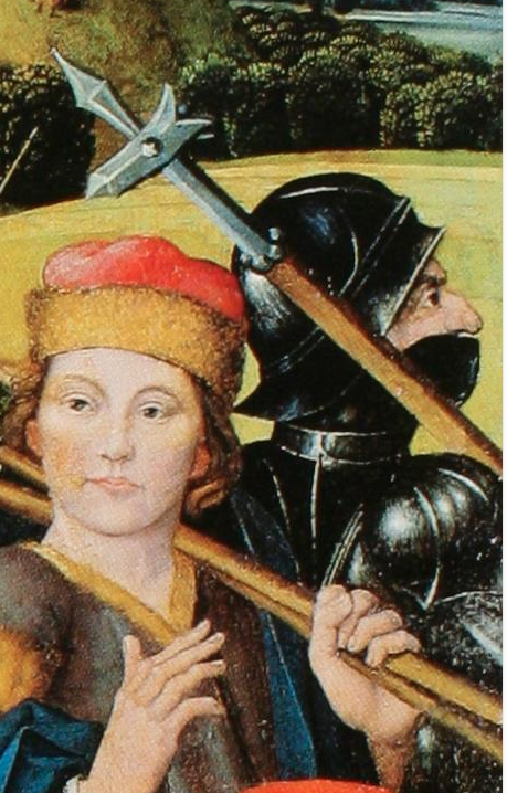 BAEGERT, Derick 1490 Christ Bearing the Cross
