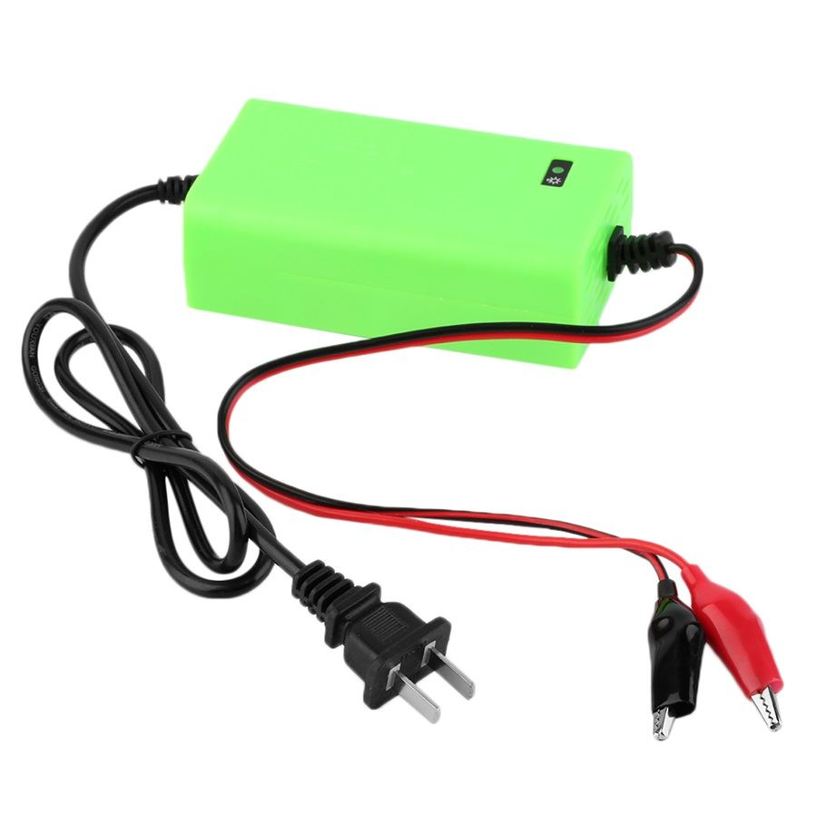 12V 2A Intelligent auto Car Battery Charger Voltage Rechargeable ...