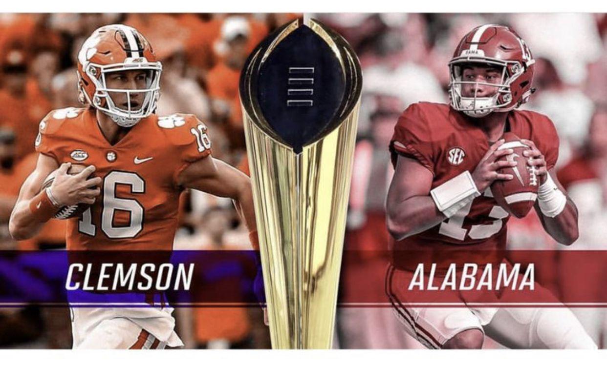 Pin By Ray Dillard On Clemson Football Alabama Vs Clemson Vs