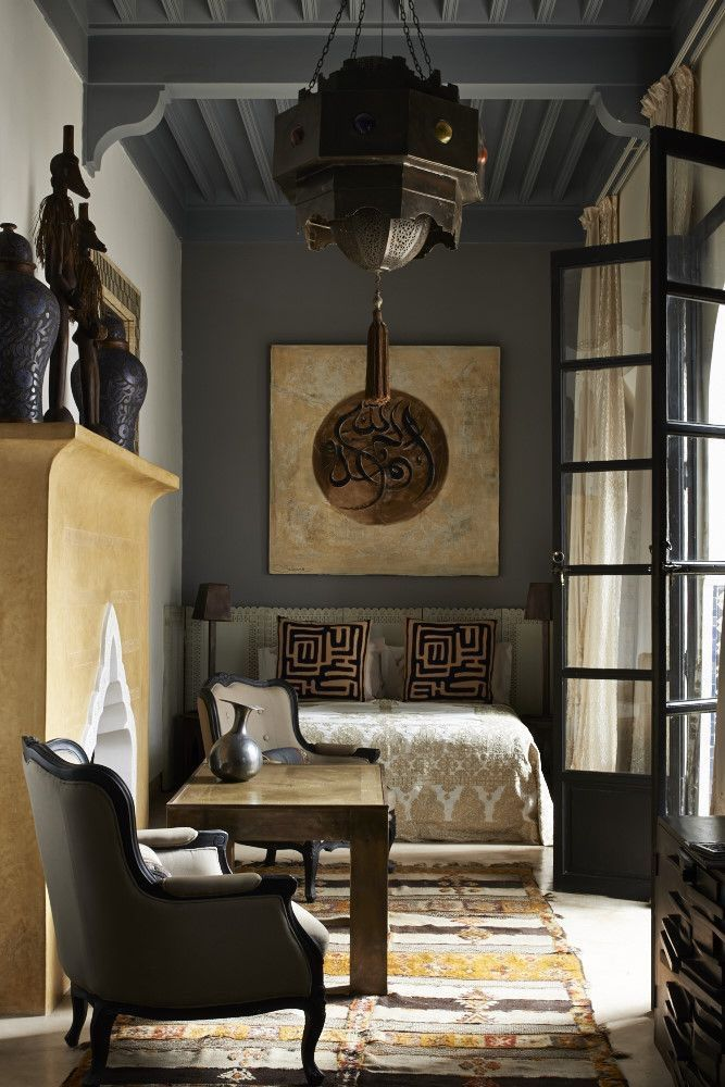 Hotel Room Decoration: Oriental Style Interior Design