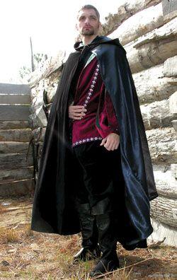 Noble Cloak Renaissance Costumes Medieval Clothing