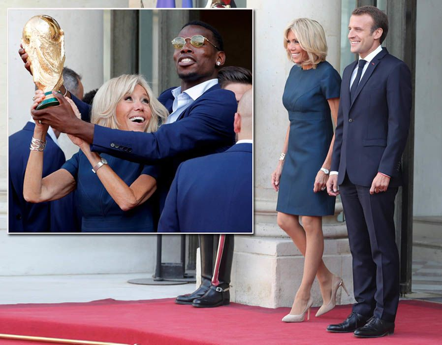France S First Lady Brigitte Macron In Pictures Pictures Pics Express Co Uk Brigitte Autumn Fashion Women Lady