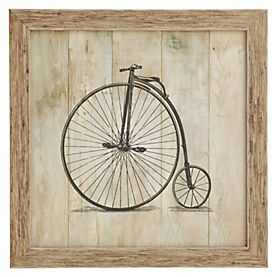 by Sainsburyu0027s Penny Farthing Wall Art  sc 1 st  Pinterest & by Sainsburyu0027s Penny Farthing Wall Art | The Penny Farthing ...
