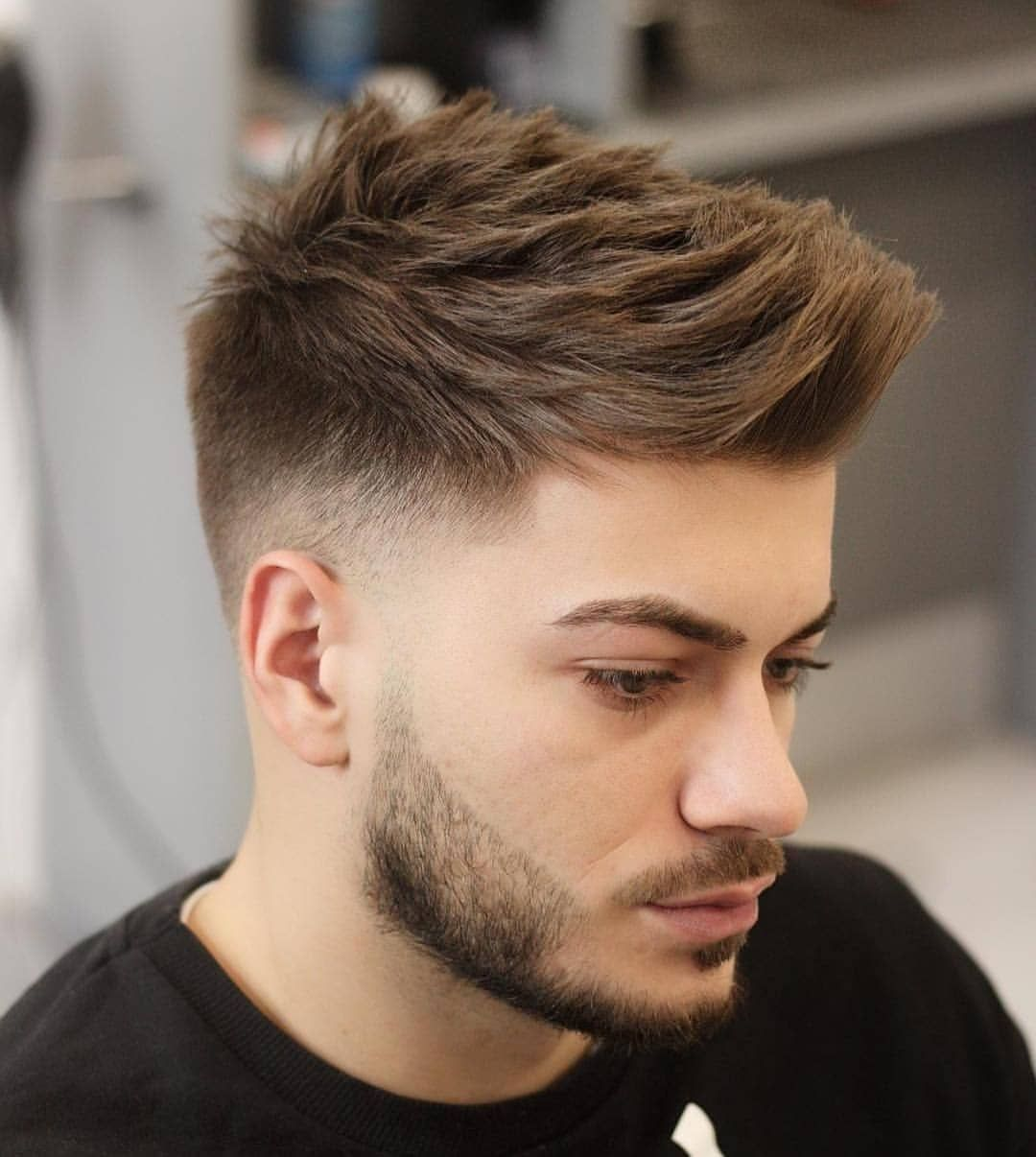 10 Most Preferred Short Haircut Style For Men 2019men Shaircuts Haircut Haircutstyles Manhair Boys Haircut Styles Thick Hair Styles Mens Hairstyles Short