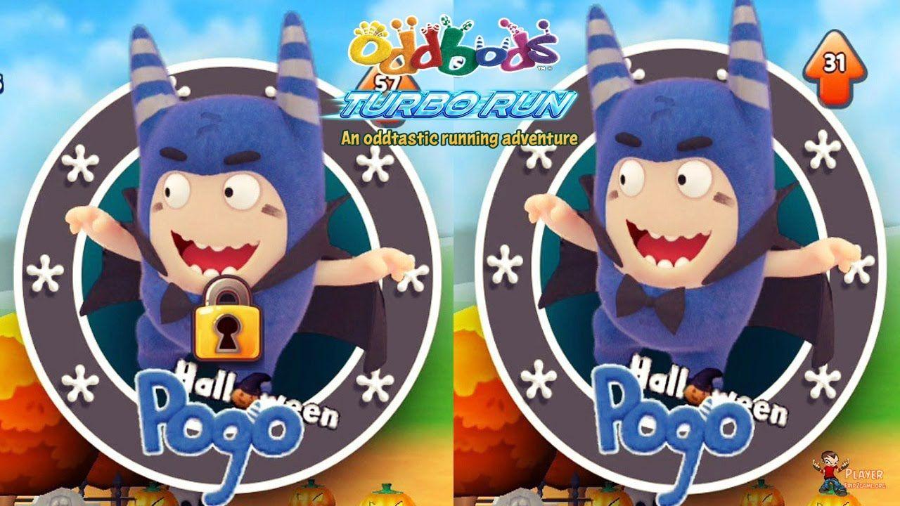 Oddbods Turbo Run Halloween PoGo Unlocked New Character