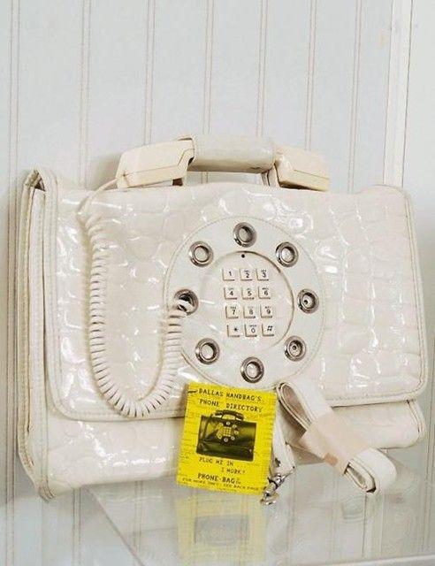 1960's Phone Bag
