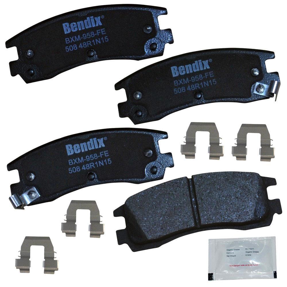 Bendix Premium Copper Free Disc Brake Pad Set Cfm508 Brake Pads Ceramic Brake Pads Buick Park Avenue