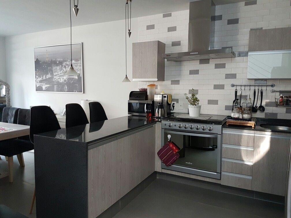 Alicatados de cocinas modernas perfect best lamparas de cocina modernas para una iluminacin - Azulejos para cocinas blancas modernas ...