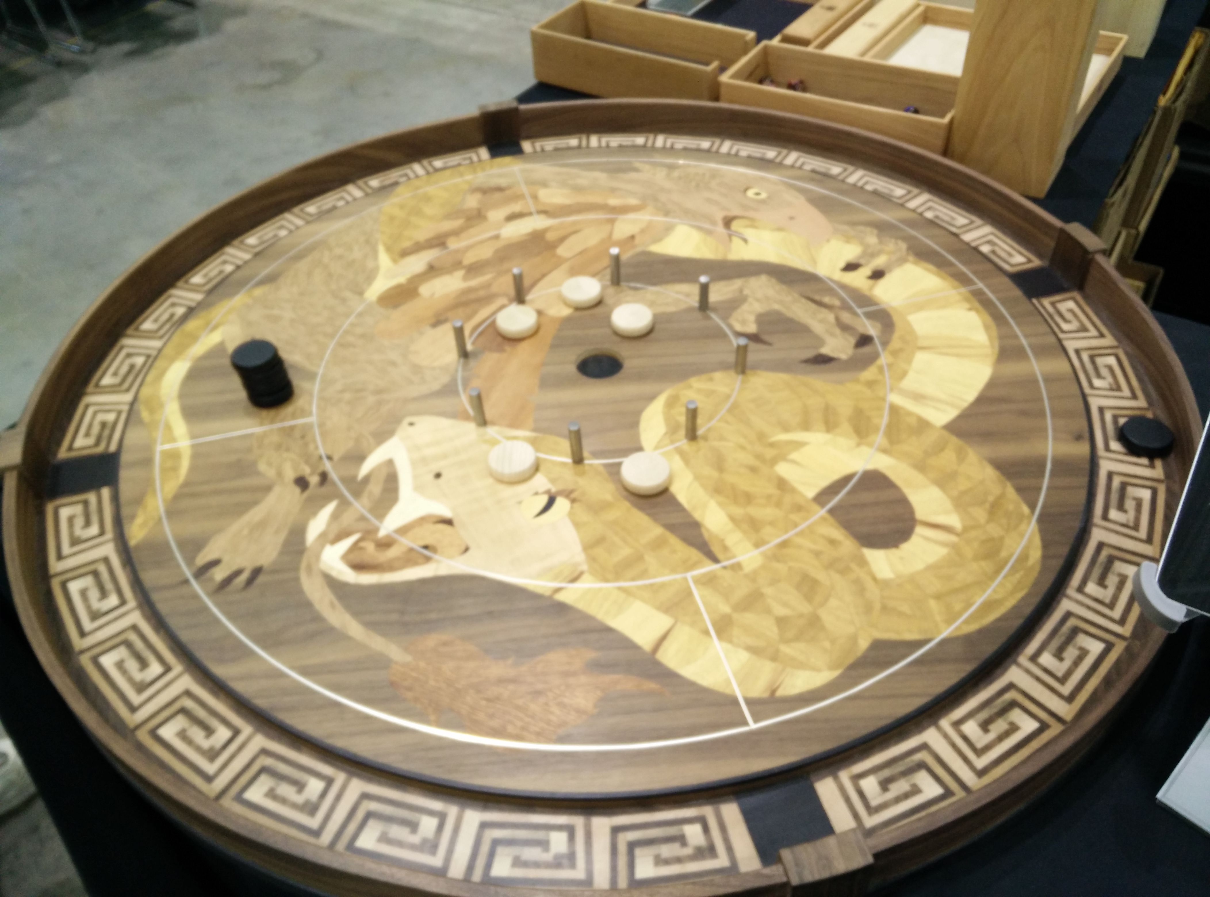 Wyrmwood Crokinole (With images) Game inspiration