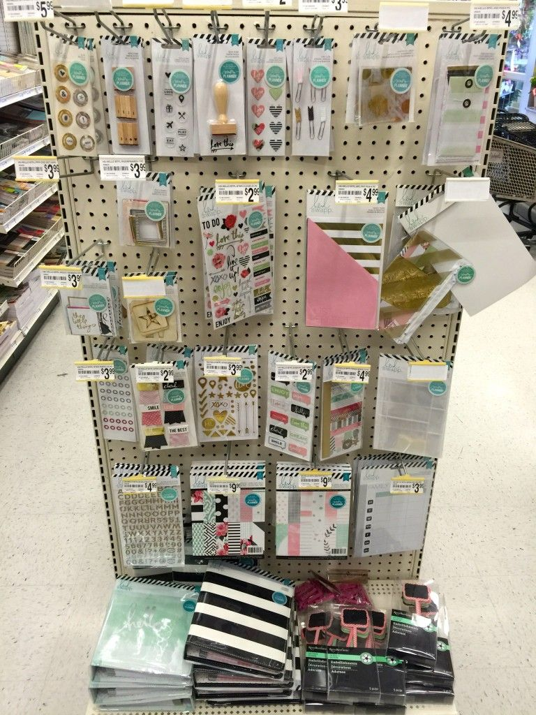 Scrapbook Shopping New Heidi Swapp Planners At Michaels Scrapbook