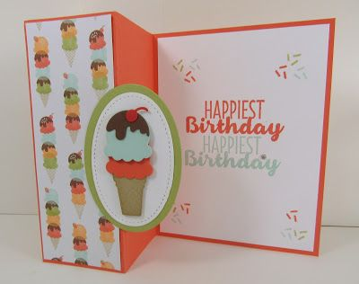 folded birthday cards