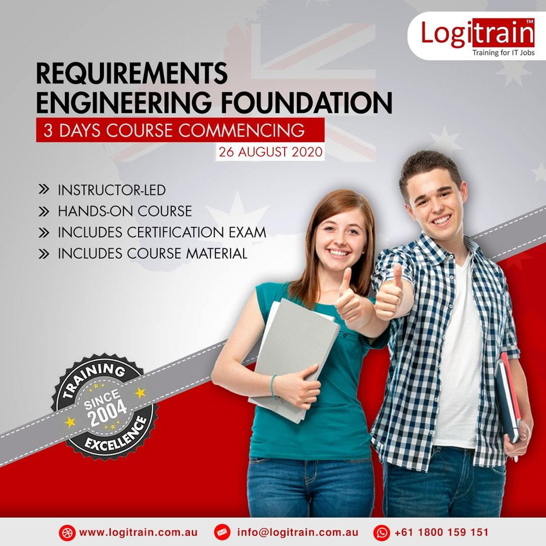 Requirements Engineering Foundation Training in 2020
