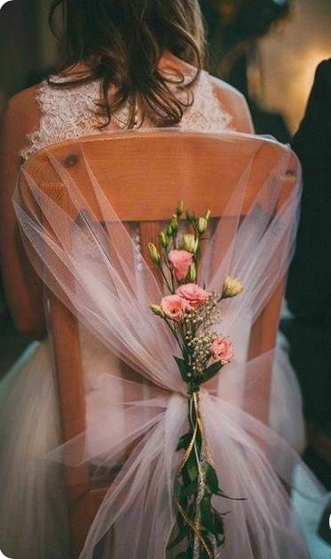 38 Classy Chair Decoration Ideas for Indoor and Outdoor Weddings – The First-Hand Fashion News for Females