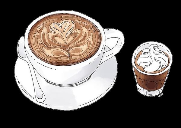 Coffee Drawing Coffee Drawing Free Clip Art Cake Display