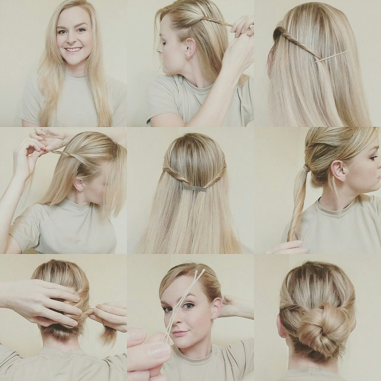 Popsugar Hair Styles Hair Bun Pictures Military Hair