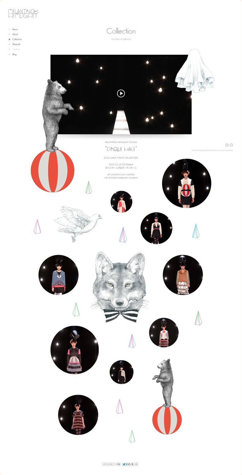 How cute are these illustrations in this website design? #webdesign #illustrations