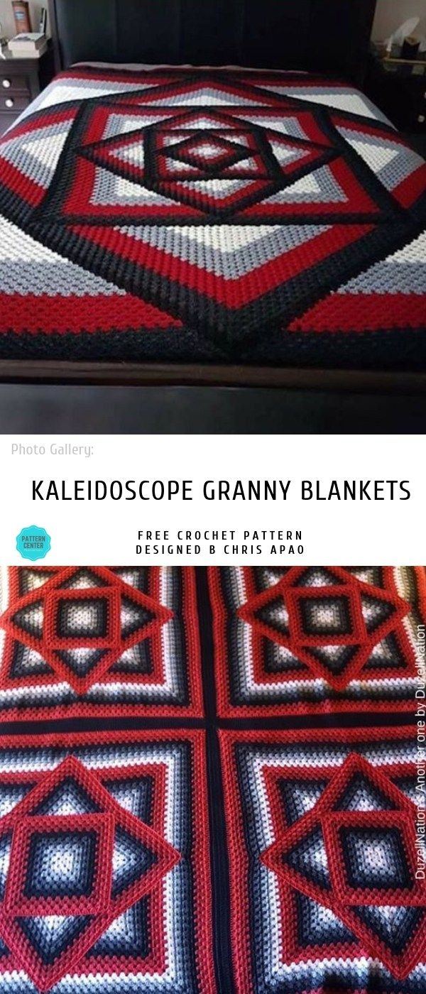 Pinned on Pinterest: Squared Diamond Crochet Granny Throw thumbnail