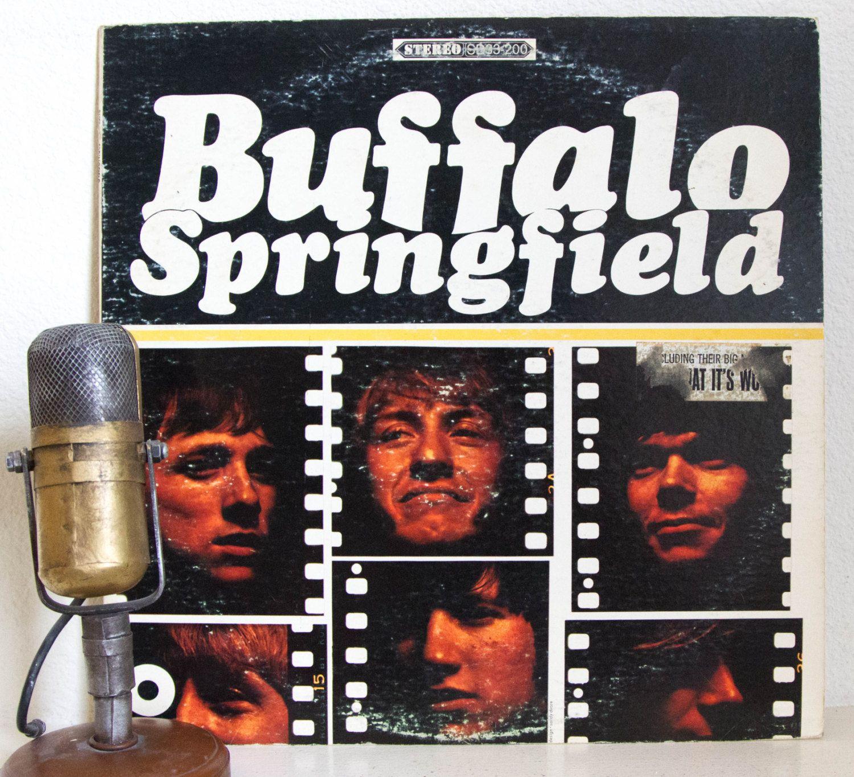 Buffalo Springfield With Neil Young And Stephen Stills Vinyl Etsy Vinyl Record Album Stephen Stills Neil Young