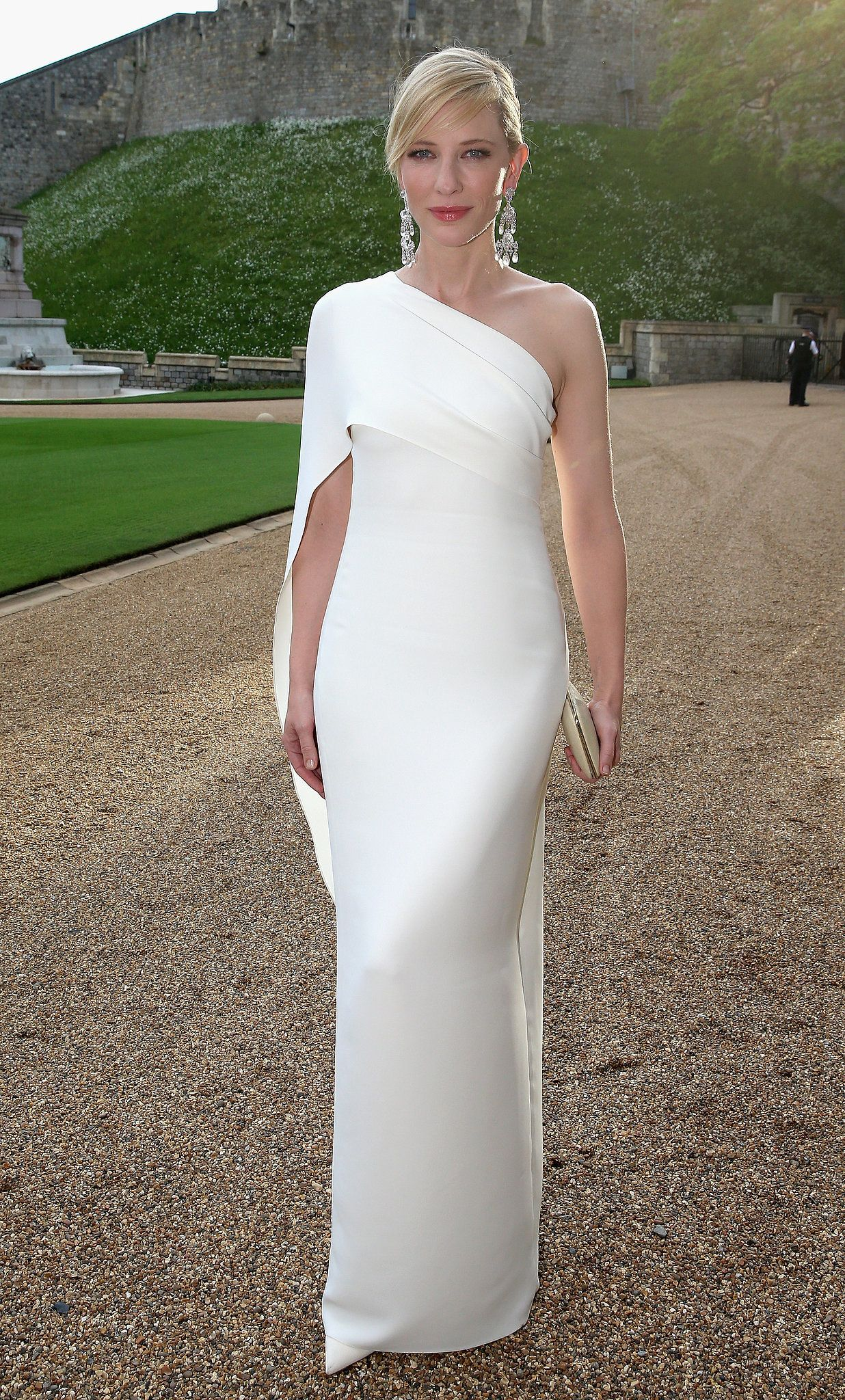 3e1862e4a Cate Blanchett: Cate Blanchett in Ralph Lauren Collection at the Royal  Marsden Dinner at Windsor Castle.
