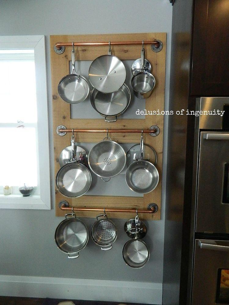 Pot Farm Or Pot Rack Kitchen Storage Hometalk