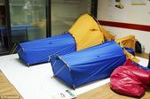 Magic allinone tent combines insulated shelter with a sleeping bag