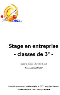Rapport De Stage D Observation 3ème Pdf Rapport De Stage D