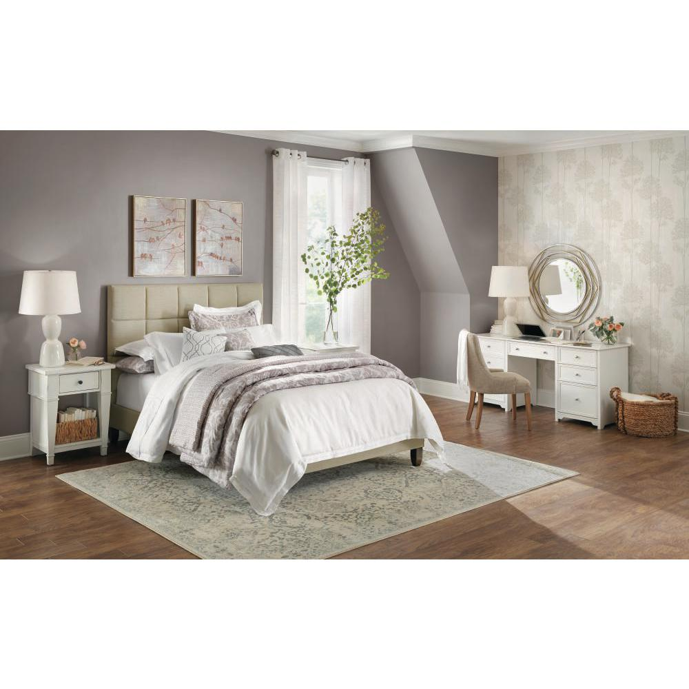 Classic concept harlow white linen blend 20 in x 26 in
