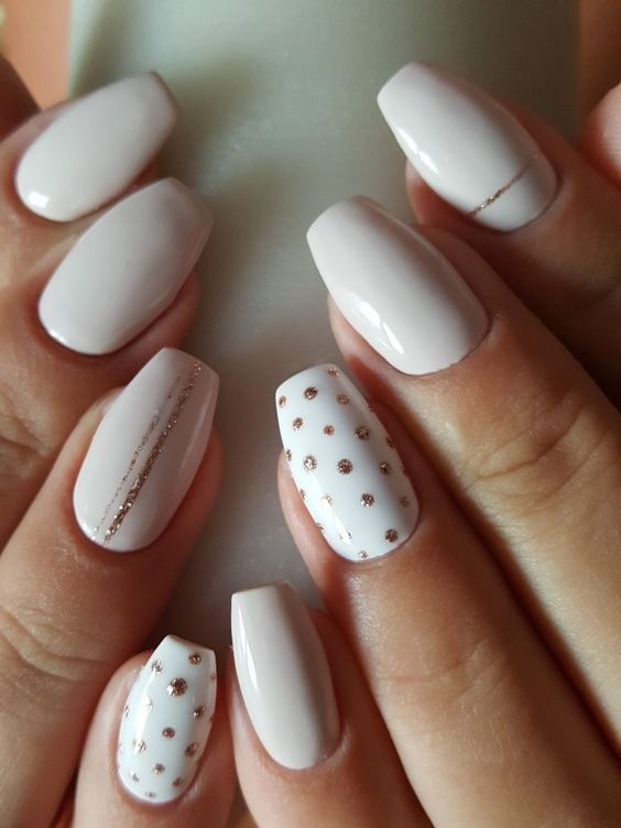 52 Cute Lines Dots Nail Art Design To Try Now Gel Nails