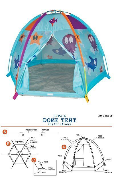 Play Tents 145997 Pacific Play Tents Kids Ocean Adventures Dome Tent For Indoor Outdoor Fun  sc 1 st  Pinterest & Play Tents 145997: Pacific Play Tents Kids Ocean Adventures Dome ...