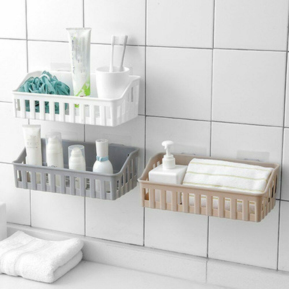 Wall Mounted Bathroom Storage Shampoo Cosmetics Shelf Holder For Home New 1 Pc Ebay Bathroom Wall Storage Wall Mounted Bathroom Storage Wall Storage Shelves [ 1000 x 1000 Pixel ]
