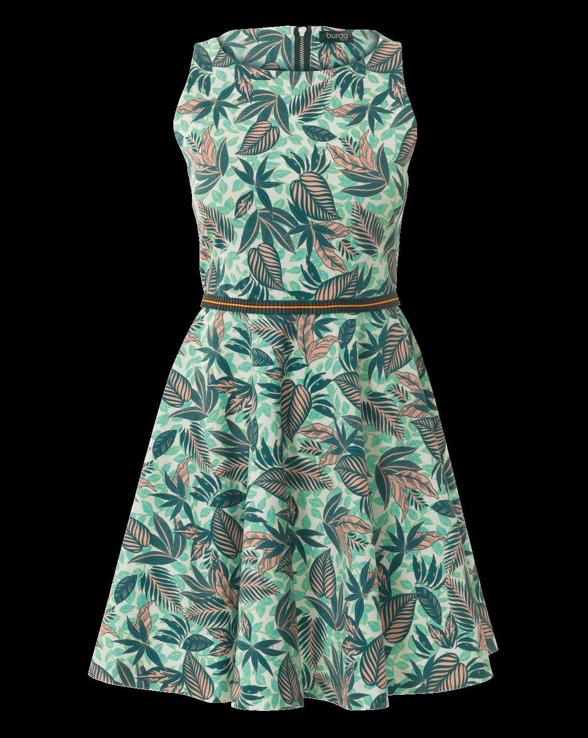 Schnittmuster inkl. Step-by-Step Skater-Kleid 07/2017 #101 | Nähen ...